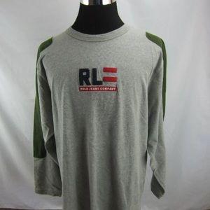 Vtg POLO JEANS CO Ralph Lauren XL Sweatshirt (90s)